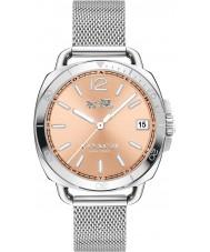 Coach 14502635 Ladies Tatum Silver Steel Mesh Bracelet Watch