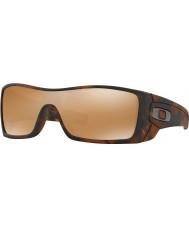 Oakley OO9101-53 Batwolf Matte Brown Tortoiseshell - Tungsten Iridium Sunglasses