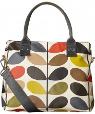 Orla Kiely 0ETCCMS100 Ladies Classic Multi Stem Zip Satchel