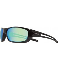 Revo RE4070 Guide S Black - Green Water Polarized Sunglasses