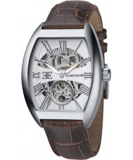 Thomas Earnshaw ES-8015-02 Mens Holborn Automatic Brown Leather Strap Watch