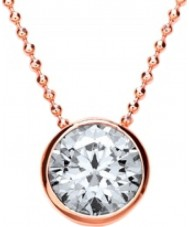 Purity 925 PUR3667-2 Ladies Necklace