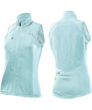 2XU Ladies Vapor Glass Blue Mesh Cycle Vest
