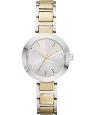 DKNY NY2401 Ladies Stanhope Two Tone  Steel Bracelet Watch