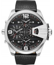 Diesel DZ7376 Mens Uber Black Leather Chief Watch