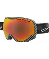 Bolle 21307 Emperor Black and Grey Plaid - Sunrise Ski Goggles