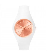 Ice-Watch 001397 Ladies Ice-Chic Exclusive White Silicone Strap Watch
