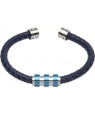 Unique B285BLUE-21CM Mens Bracelet