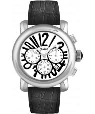 Pocket PK3026 Mens Rond Chrono Grande Silver Black Watch