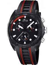 Lotus 18159-6 Mens All Black Rubber Chronograph Watch