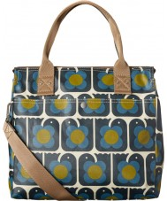 Orla Kiely 17SELBR100-4110 Ladies Love Birds Zip Messenger Bag