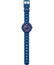 Flik Flak FCSP040 Boys Seriously Navy Blue Silicone Strap Watch