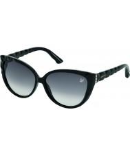 Swarovski Ladies Black SK0059 Delicious Sunglasses