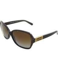 Michael Kors MK6013 57 Cuiaba Brown Snake 3019T5 Polarized Sunglasses