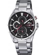 Lotus L18319-4 Mens Multifunction Silver Steel Bracelet Watch