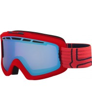 Bolle 21468 Nova II Matte Red and Blue - Aurora Ski Goggles