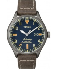 Timex Originals TW2P83800 Mens Waterbury Brown Leather Strap Watch