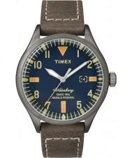 Timex Originals TW2P83800 Mens Waterbury Brown Leather Strap Watch