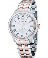 Thomas Earnshaw ES-8033-33 Mens Cornwall Two Tone Steel Bracelet Watch