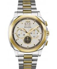 Bulova 98B232 Mens Dress Two Tone Chronograph Watch