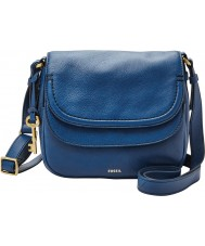 Fossil ZB6840433 Ladies Peyton Double Flap Bag