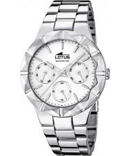 Lotus 15919-1 Ladies Silver Tone Steel Multifunction Watch
