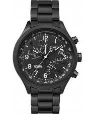 Timex Intelligent Quartz TW2P60800 Mens Black Fly-Back Chronograph Watch