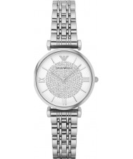 Emporio Armani AR1925 Ladies Silver Steel Dress Watch