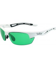 Bolle Bolt S Shiny White CompetiVision Gun Tennis Sunglasses
