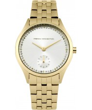French Connection FC1272GM Ladies Gold Plated Bracelet Watch