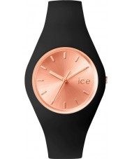 Ice-Watch 001398 Ladies Ice-Chic Exclusive Black Silicone Strap Watch