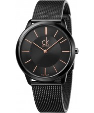 Calvin Klein K3M21421 Mens Minimal Black Steel Mesh Bracelet Watch