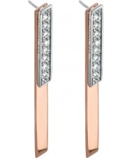 Fiorelli E5144C Ladies Fluid Lines Earrings
