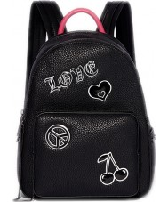 Juicy by Juicy JCH0010-BLACK Ladies Aspen Backpack