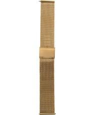 Charles Conrad CDA1004-20-M1 Gold Mesh Strap