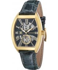 Thomas Earnshaw ES-8015-05 Mens Flinders Green Crock Leather Strap Watch