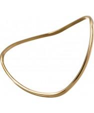 Edblad 3153441922-S Ladies Size Small Kavala Yellow Gold Plated Bangle