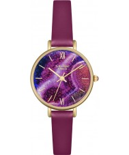 Lola Rose LR2038 Ladies Berry Leather Strap Watch