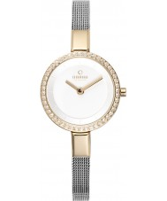 Obaku V129LEGIMC Ladies Silver Steel Mesh Bracelet Watch