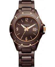 Rodania Swiss RS25085-45 Ladies Brown GEN1 Ceramic Watch