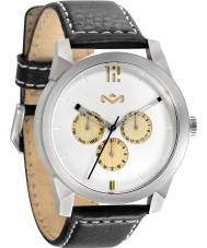 House of Marley WM-FA005-IO Mens Billet Leather Iron Watch