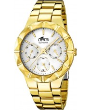 Lotus 15920-1 Ladies Gold Plated Steel Multifunction Watch