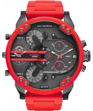 Diesel DZ7370 Mens Mr Daddy 2.0 Red Steel Bracelet Watch