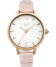 Lipsy LP432 Ladies Cream PU Strap Watch