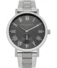 French Connection FC1259BM Mens Silver Steel Bracelet Watch