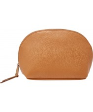 Fossil SL6909235 Ladies Domed Camel Cosmetic Bag