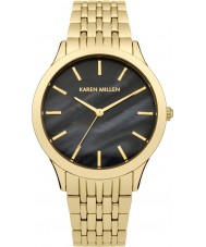 Karen Millen KM106BGMA Ladies Gold Plated Bracelet Watch