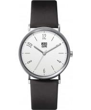 Zoom ZM-3793M-2501 Mens City Walk White Black Watch