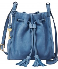 Fossil ZB7112484 Ladies Claire Drawstring Bucket Bag