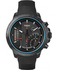Timex Intelligent Quartz T2P272 Mens Black T Series Linear Chronograph Watch